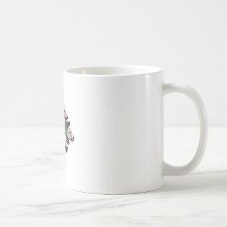 Haariger sechs Satz Kaffeetasse