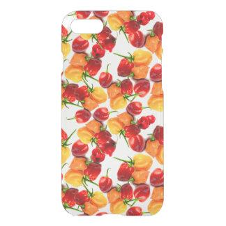 Habanero-Paprika-rote Paprikaschoten-orange heiße iPhone 7 Hülle
