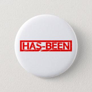 Haben-gewesen Briefmarke Runder Button 5,7 Cm