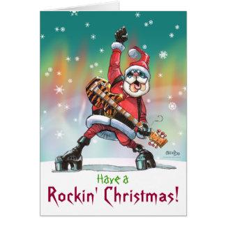 Haben Sie a, Rockin Weihnachtskarte Karte