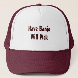 Haben Sie Banjo auswählt Truckerkappe