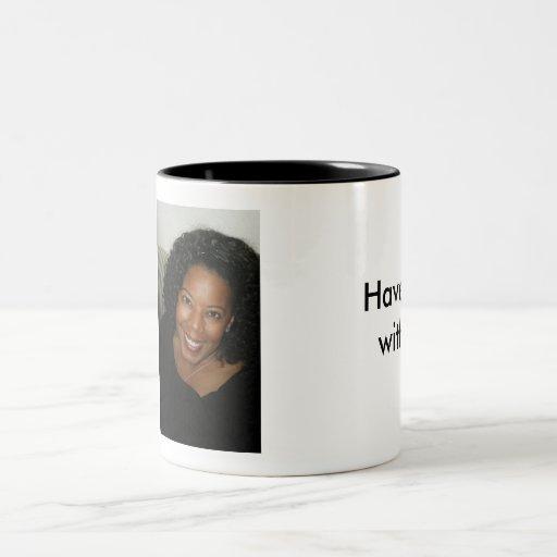 Haben Sie Coffe mit mir! Teetasse