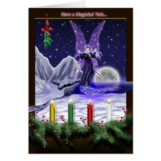 Haben Sie ein Magickal Weihnachten… Karte