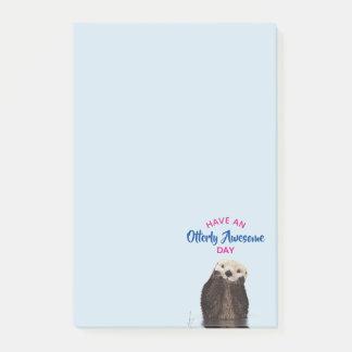 Haben Sie ein Otterly fantastischer Post-it Klebezettel