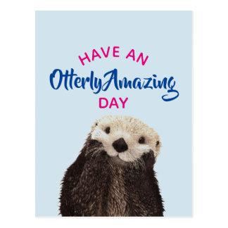Haben Sie ein Otterly fantastischer Postkarte