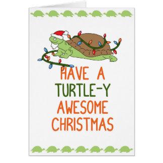 Haben Sie ein Schildkröte-y fantastisches Karte