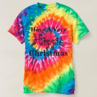 Haben Sie ein sehr Hippie-Weihnachtseinzigartiges T-shirt