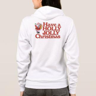 Haben Sie ein Stechpalme lustiges Weihnachten Hoodie