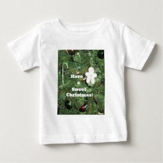 Haben Sie ein süßes Weihnachten! Baby T-shirt