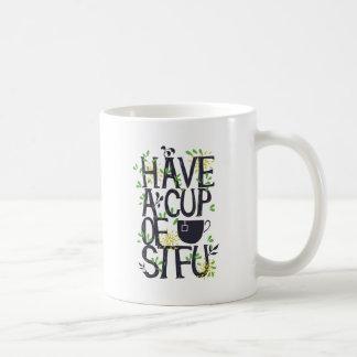 Haben Sie eine Schale STU Kaffeetasse