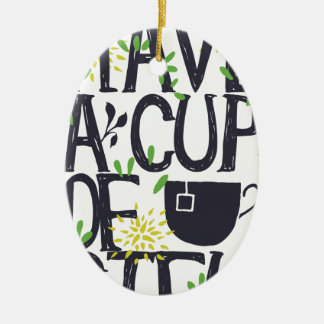 Haben Sie eine Schale STU Keramik Ornament