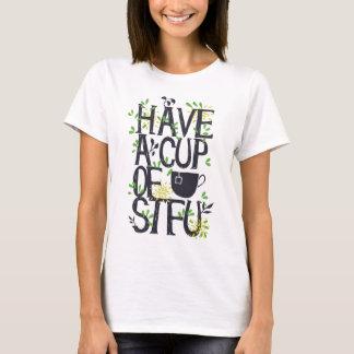 Haben Sie eine Schale STU T-Shirt