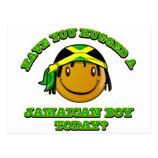 Haben Sie einen jamaikanischen Jungen heute Postkarte