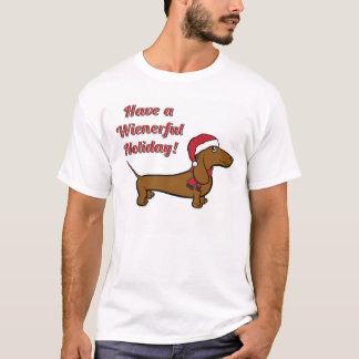 Haben Sie einen Wienerful Feiertags-T - Shirt