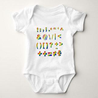 Haben Sie etwas Interpunktion Baby Strampler