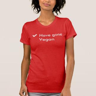 Haben Sie gegangenen veganen T - Shirt