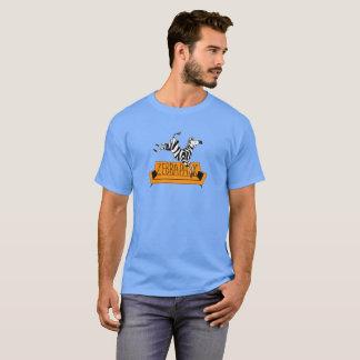 Haben Sie Mut u. seien Sie nettes ZebraPark T-Shirt