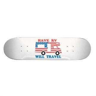 Haben Sie RV reist Amerika 18,1 Cm Old School Skateboard Deck