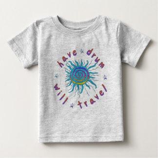 Haben Sie Trommel reist Baby T-shirt