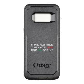 Haben Sie versucht, es mit Unterbrechungen zu OtterBox Commuter Samsung Galaxy S8 Hülle