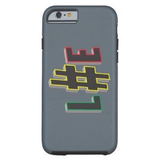 hacken Sie Umbauleben rasta Case-Mate starken Tough iPhone 6 Hülle