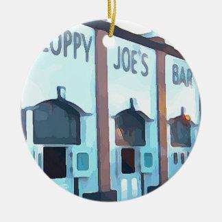 Hackfleisches mit Soße Bar Keramik Ornament