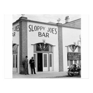 Hackfleisches mit Soße Bar, Key West, Postkarte