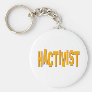Hactivist Hacker-Aktivist Schlüsselbänder