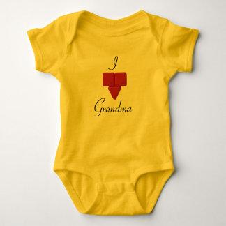 Hadali Spielwaren - Herz-Großmutter-Baby-Bodysuit Baby Strampler