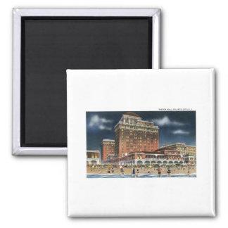 Haddon Hall, Atlantic City, NJ Quadratischer Magnet
