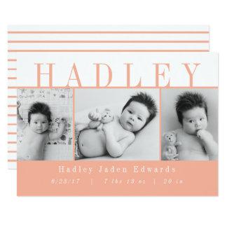 HADLEY-PEACH KARTE