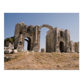 Hadrians Bogen, Jerash, Jordanien Postkarte