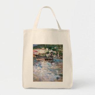 Hafen an Nizza Einkaufstasche