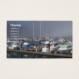Hafen-Boote Visitenkarten