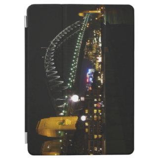 Hafen-Brücke nachts iPad Air Hülle