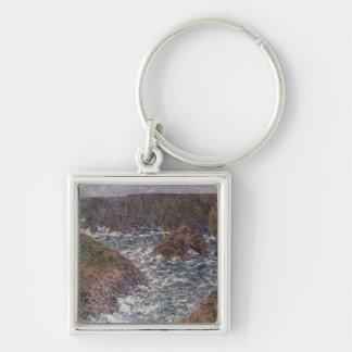 Hafen Domois Claude Monets | an der Schönheit Ile, Schlüsselanhänger