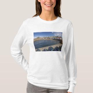 Hafen, Findochty, Moray, Schottland, vereinigt T-Shirt