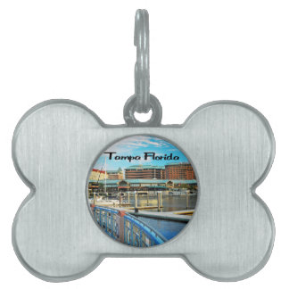 Hafen-Insel Tampas Florida Tiermarke