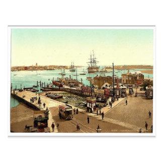 Hafen, Klassiker Photochrom Portsmouth, England Postkarten