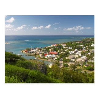 Hafen Mathurin, Rodrigues Insel, Mauritius Postkarte