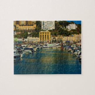Hafen-Puzzlespiel Puzzle
