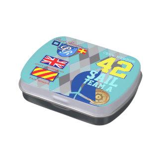 Hafen Richman BRITISCHE Segeln-nautischRaute Süßigkeitenbox