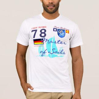 Hafen Richman Segeln-Meister der T-Shirt