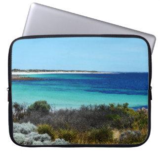 Hafen Rickaby Südaustralien der Strand, Laptopschutzhülle
