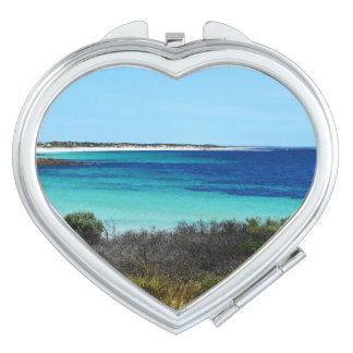 Hafen Rickaby, Südaustralien, der Strand, Schminkspiegel