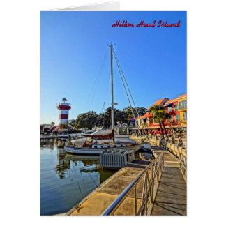 Hafen-Stadtleuchtturm - Hilton Head Island Sc Karte