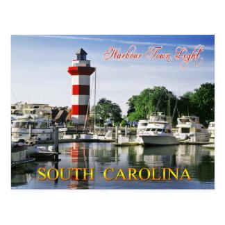 Hafen-Stadtleuchtturm, Hilton Head Island, Sc Postkarte