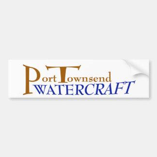 Hafen Townsend Watercraftabziehbild Autoaufkleber