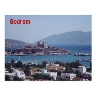 Hafen von Bodrum Postkarte