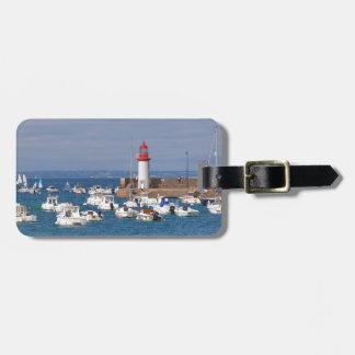 Hafen von Erquy in Frankreich Kofferanhänger
